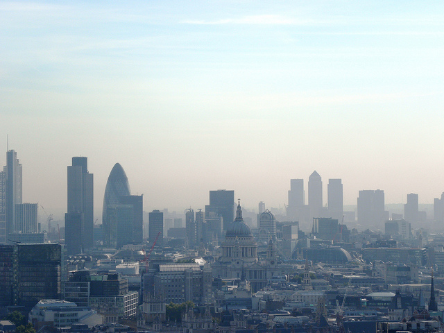The City of London and Canary Wharf by EG Focus on Flickr