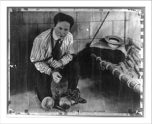 Harry Houdini by  Snapshots of The Past on Flickr