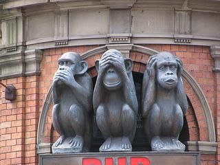 Three Monkeys by KLW NFC on Flickr