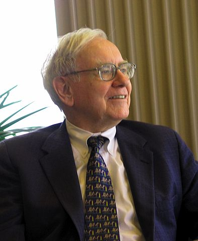Warren Buffett  Photo by Mark Hirschey